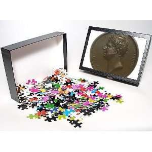 Photo Jigsaw Puzzle of Medal commemorating the visit of King George IV