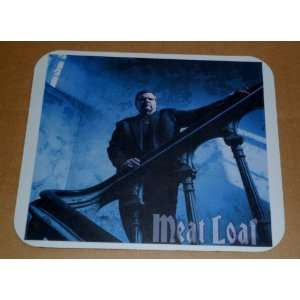 MEAT LOAF On a Gothic Staircase COMPUTER MOUSE PAD