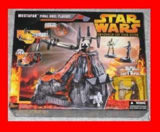 STAR WARS MUSTAFAR FINAL DUEL PLAYSET REVENGE OF SITH