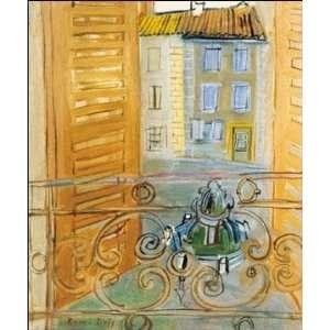 Raoul Dufy   La Fonyaine A Aspet  Home & Kitchen