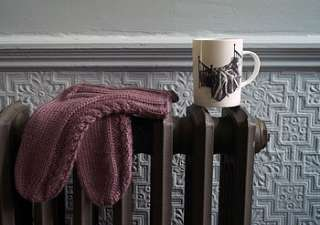 Buy Hand Knitted Bed Socks By Roost Living from