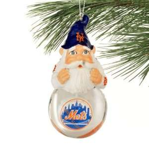 Forever Collectibles New York Mets Light Up Snow Globe Ornament