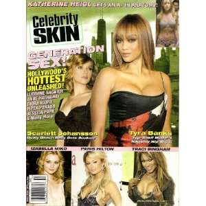 #154 Paris Hilton, Traci Bingham, Tyra Banks: High Society: Books