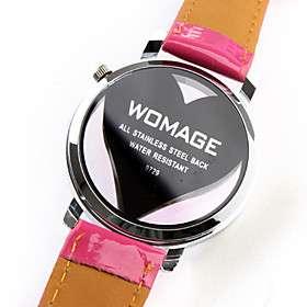 reloj pulsera rosa roja rosa roja placa de marcación 9729 1 #00210413