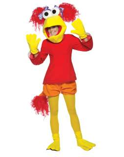 The officially licensed womens adult Fraggle Rock Red costume
