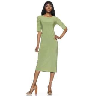 Tiana B. Giddy for the Midi Elbow Sleeve Maxi Dress