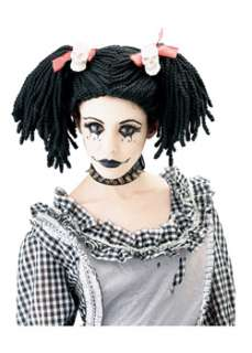 Gothic Rag Doll Wigs  Cheap Gothic Punk Wigs Halloween Costume for