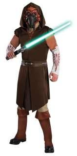Deluxe Adult Star Wars Plo Koon Costume   Star Wars 1Costumes