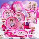 Girls Princess Birthday Party Supplies   Girls Doll Party Themes