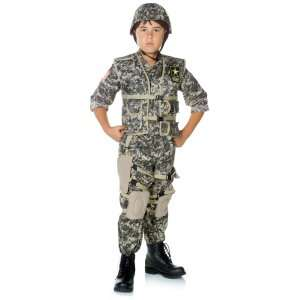 Army Ranger Deluxe Child Costume, 804337