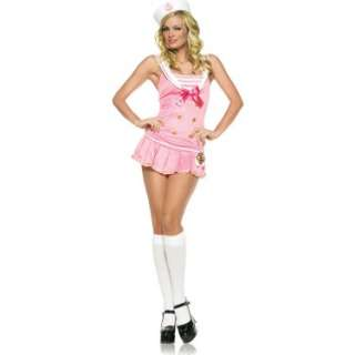Shipmate Cute Pink/White Adult Costume   Costumes, 70834
