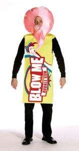 Blow Me Bubble Gum Adult Costume   Adult Costumes