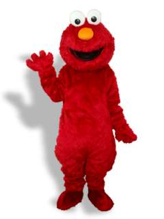 Red Plush Monster Adult Mascot Costume [#UDC2152]   Udreamycostumes