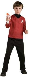 Star Trek Scotty Costume for Kids  Star Trek Red Shirt Kids Costume