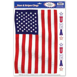 american flag window cling regular $ 3 99 price $ 2 99 save $ 1