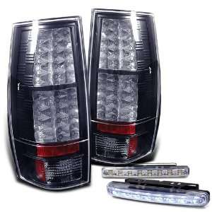 Rxmotoring 2007 2010 Chevy Suburban 1500 Tail Lights Led Lamps + 8 Led
