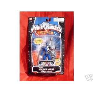 Power Rangers SPD Blue Cyber Arm Toys & Games