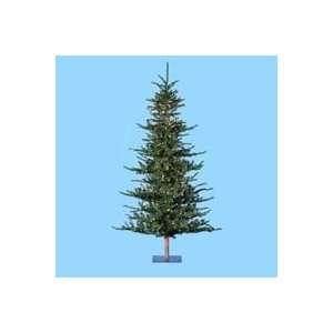 Lit Alpine Artificial Christmas Tree   Clear Lights