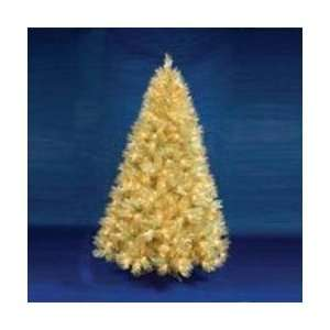 Lit Champagne Artificial Christmas Tree   Clear Lights
