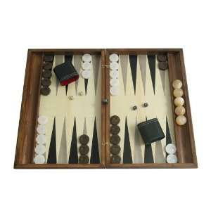 Hand crafted Backgammon Board Game Set with Racks (19