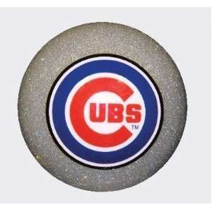 Chicago Cubs SILVER Billiard Pool Table Cue Ball