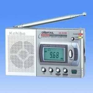 Kchibo KK 939B FM/MW/SW 10 Band World Receiver Compact Digital Radio