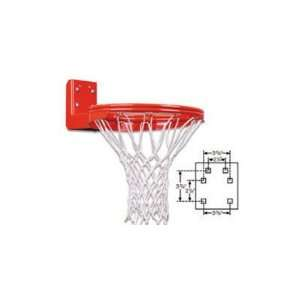 Duty Double Rim Rear Mount Fixed Basketball Goal Sports & Outdoors