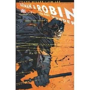 All Star Batman and Robin #7 Miller Variant MILLER