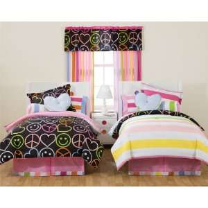 Little Miss Matched Peace Love Queen Bed Ensemble Replaced