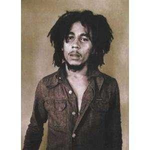Standing Portrait Bob Marley    Print