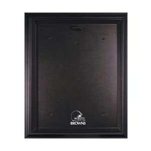 Cleveland Browns Black Frame Jersey Display Case   Cleveland Browns