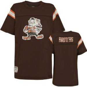 Cleveland Browns Youth Vintage Jersey Crewneck T Shirt