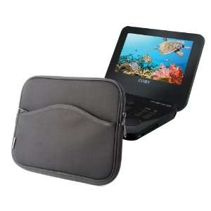 Water Resistant Portable DVD Player Black Case For Coby