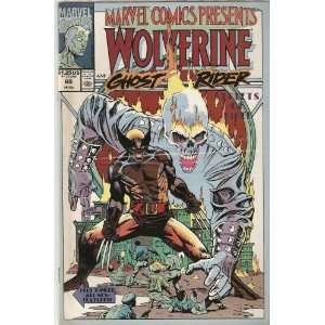 Marvel Comics Presents #69 (Vol 1. Wolverine and Ghost Rider) (Acts Of