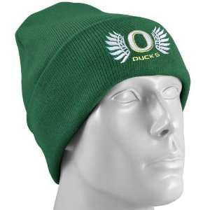 Nike Oregon Ducks Green Wings Collection Knit Beanie