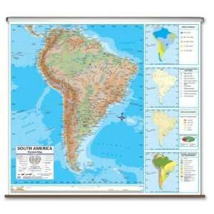 Universal Map 2794728 North America Advanced Physical Wall Map