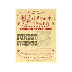 Sublime Stitching Transfer Forest Friends Pattern Arts