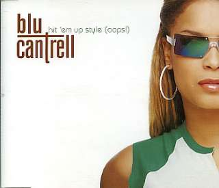 Blu Cantrell Hit Em Up Style UK Promo 5 Cd Single HITEM5 Hit Em Up