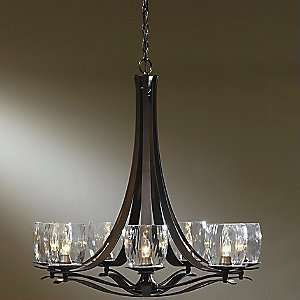 Berceau Chandelier with Water Glass by Hubbardton Forge