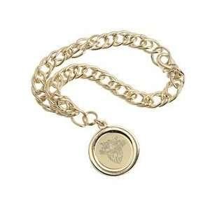 US Military Academy   Charm Bracelet   Gold