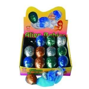 Silver Blue Green Gold Alien Babies Fancy Dress Prop Toys & Games