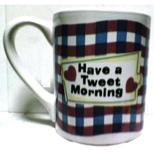 Looney Tunes Tweety Have a Tweet Morning Ceramic Coffee