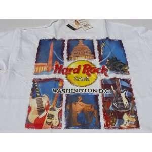 Washington DC D.C. Hard Rock Cafe City Tee #03 Shirt HRC