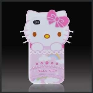 Hello Kitty Big Face w Rainbow Enigma flexible TPU soft