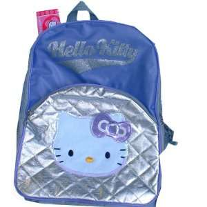 Hello Kitty Purple & Silver Backpack Toys & Games