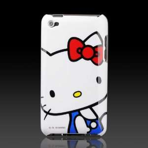 com Blue Hello Kitty on White Images hard case cover for Apple iPod