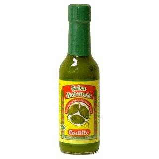 Castillo Habanero Hot Sauce Red, 5 Ounce Grocery & Gourmet Food