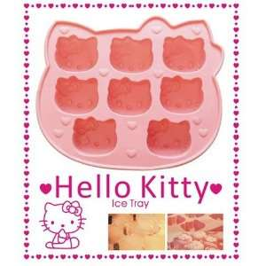 Hello kitty shape soft ice cube tray   Pink by ASTRONTEK