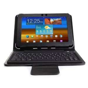 com Enhance Premium Wireless Bluetooth Keyboard Folio Case and Stand