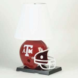 TEXAS A&M AGGIES OFFICIAL LOGO HELMET TABLE LAMP